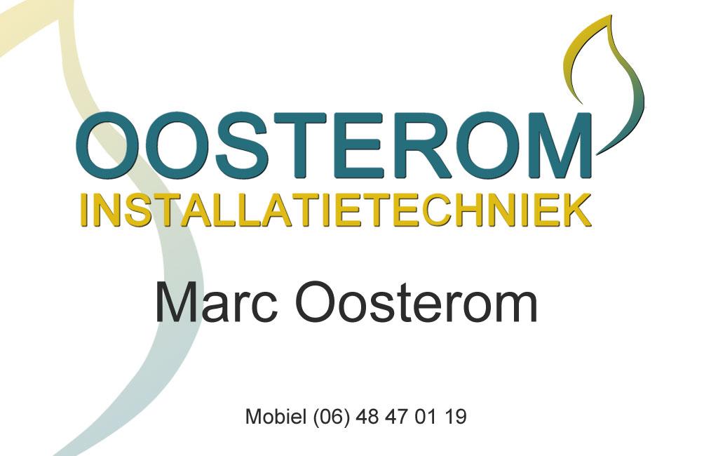 Visitekaartje Oosterom Voorzijde | Oosterom
